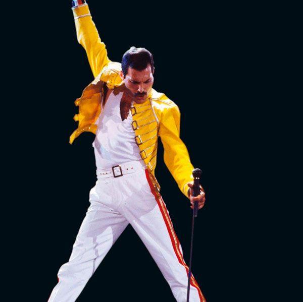 chaqueta amarilla freddie mercury