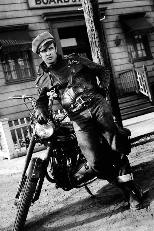cazadora biker